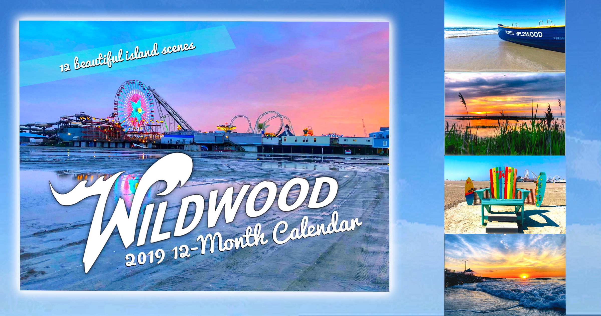 Wildwood 2019 Wall Calendar | Wildwood Pizza Tour - 5