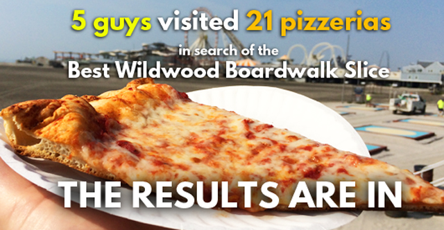 11th Annual Wildwood Pizza Tour Results