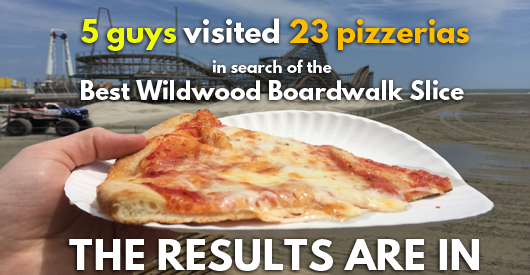 Wildwood Pizza Tour 2016 Results