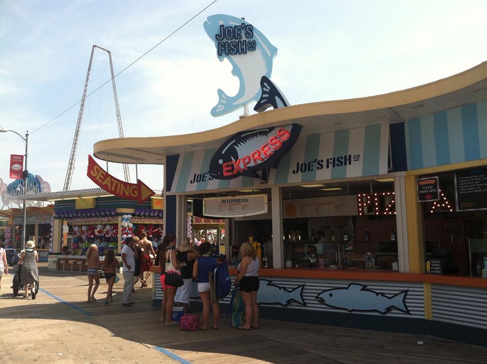 Joe 39 s fish co wildwood pizza tour ratings reviews for Fishing wildwood nj