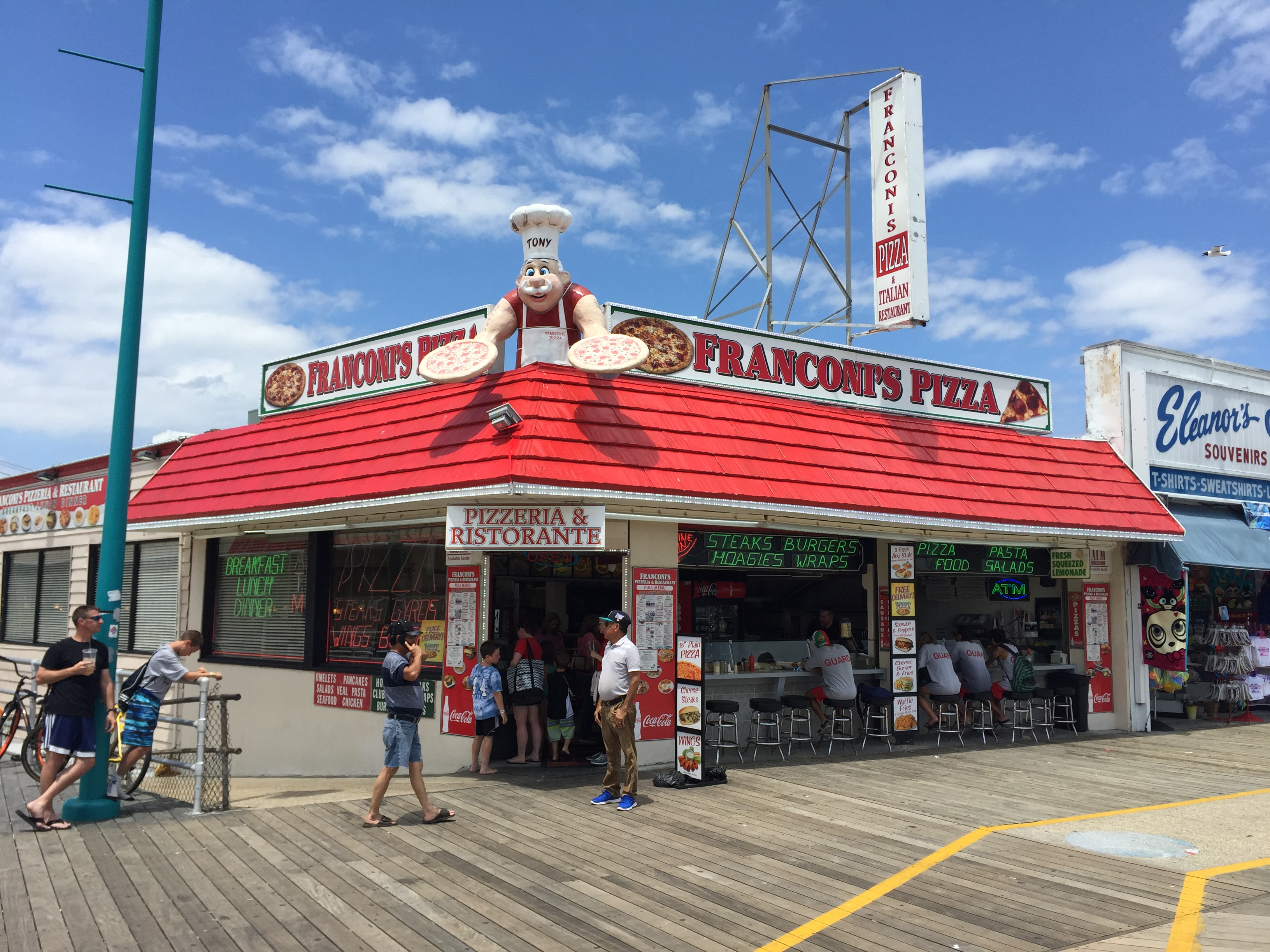 Top food places to try in wildwood n j this summer