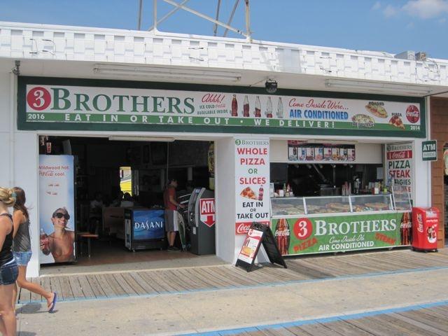 3 Brothers Pizza in Wildwood NJ