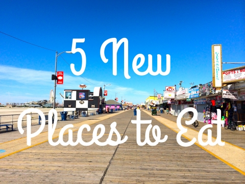 New Places to Eat on the Wildwood Boardwalk 2016