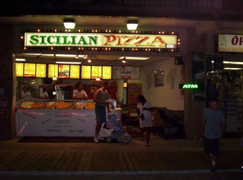 4. Sicilian Pizza