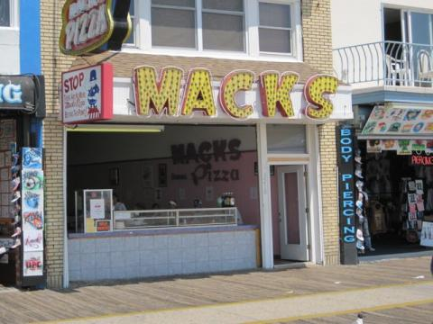 Mack's Pizza in Wildwood, New Jersey NJ