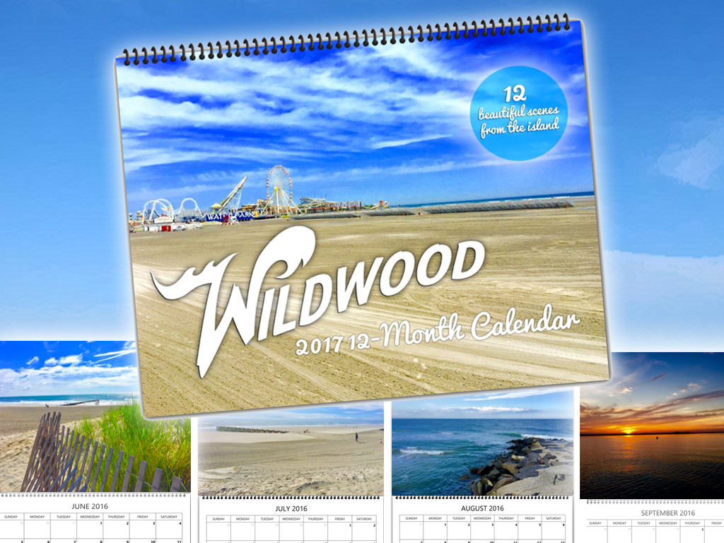 Wildwood 2017 Calendars now available!