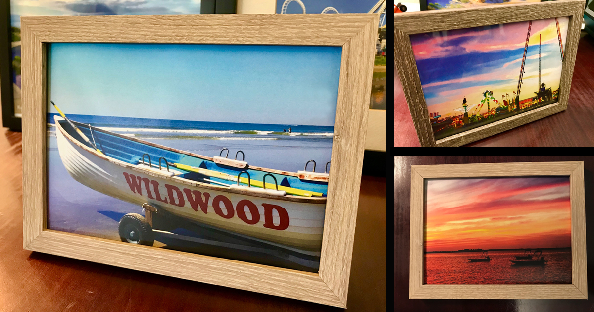 Framed Wildwood Art Now Available!